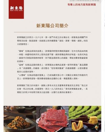 新東陽股份有限公司